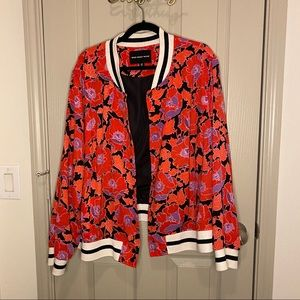 Who What Wear floral bomber jacket 4x